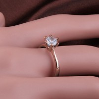 Classic Beauty Solitaire Ring
