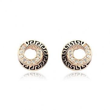Mayan Spiral Earrings