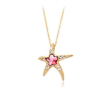 Star of the Seas Pendant - Pink