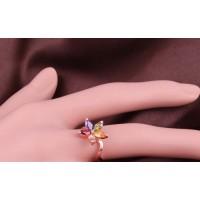 Vibrant Summer Flower Ring