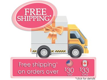 Free Shipping on orders over 30$ USD (33$ CAD) to USA & Canada (click for details)